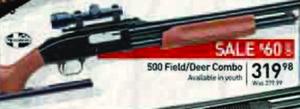 500 Field/Deer Combo