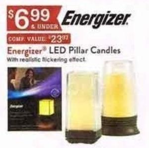 Energizer LED Pillar Candles
