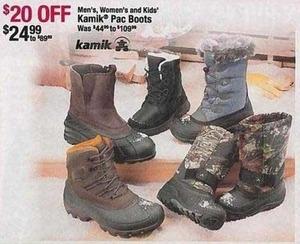 Kamik Pac Men's Boots