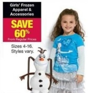 Girls' Frozen Apparel & Accessories