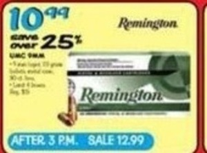 Remington UMC 9mm Bullets
