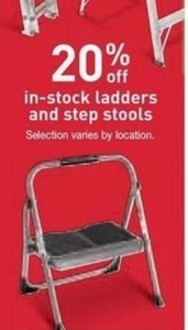 In-Stock Ladders & Step Stools