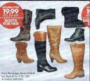 Boots for Her from Rampage, Seven Dials & Our Style and Company