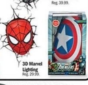 3D Marvel Lighting