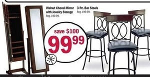 3 Piece Bar Stools