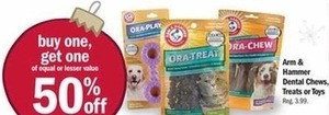 Arm & Hammer Dental Chews, Treats or Toys