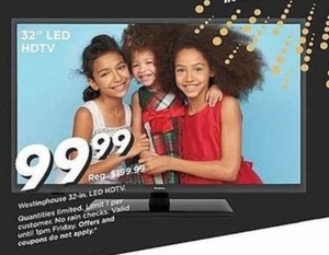 """Westinghouse 32"""" LED HDTV"""