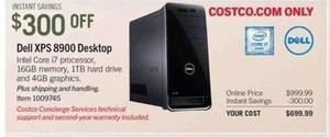 Dell XPS 8900 Desktop