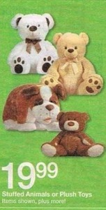 Stuffed Animals or Plush Toys
