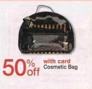 Cosmetic Bag w/ Card
