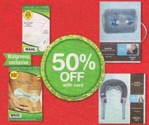 Walgreen Exclusives Health Products w/ Card