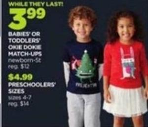 Preschoolers Size Okie Dokie Match Ups