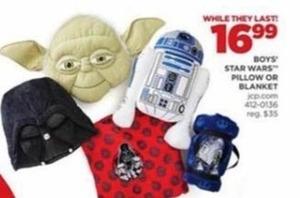 Boys' Star Wars Pillows or Blanket
