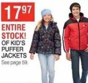OF Kid's Puffer Jackets