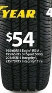 Select Good Year Tires