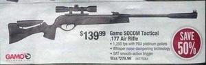 Gamo SOCOM Tactical .177 Air Rifle