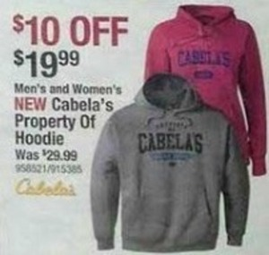 Cabela's Property of Hoodie