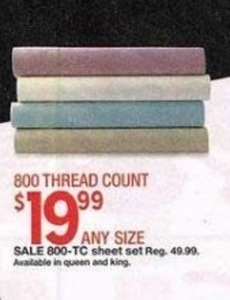 Any Size 800-TC Sheet Set