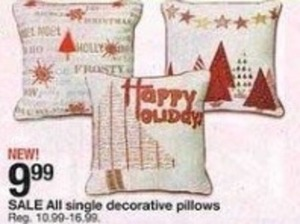 Single Decorative Pillows