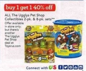 All the Ugglys Pet Shop Collectibles Sets
