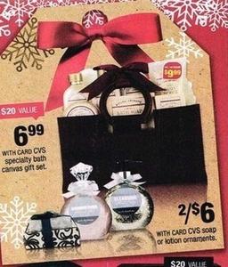 Specialty Bath Canvas Gift Set