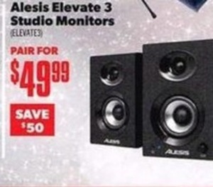 Alessi Elevate 3 Studio Monitors