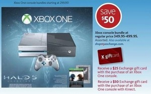 Xbox Console Bundle + Gift Card
