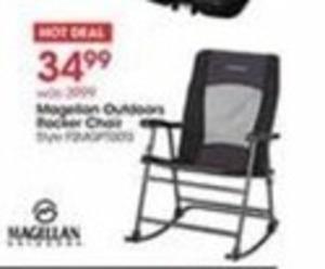 Magellan Outdoors Rocker Chair