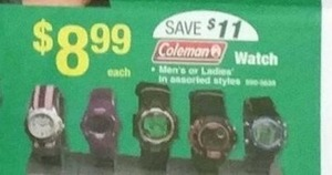 Coleman Watch
