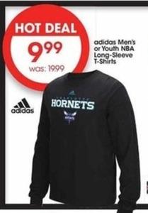 Adidas Men's or Youth NBA Long-Sleeve T-Shirts