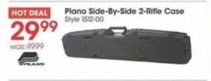 Plano Side-by-Side 2-Rifle Case