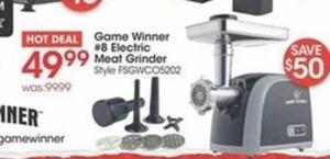 Game Winner #8 Electric Meat Grinder