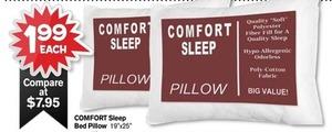 Comfort Sleep Bed Pillow