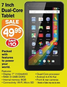 """7"""" Dual-Core Android Tablet"""