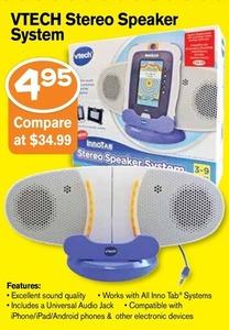 VTech Stereo Speaker System