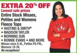 Women's Fleece Tops