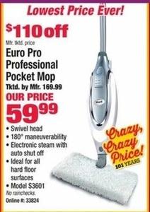 Euro Pro Professional Pocket Mop