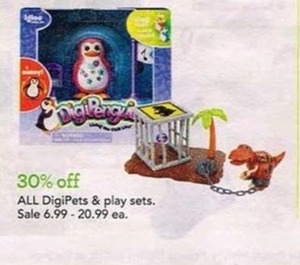 All DigiPets & Play Sets
