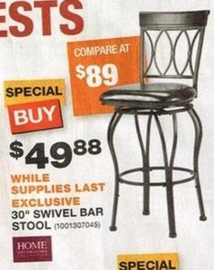 """30"""" Swivel Bar Stool"""