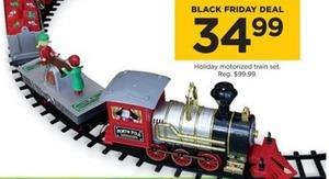 Holiday Motorized Train Set