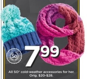 Women's SO Cold Weather and Accessories