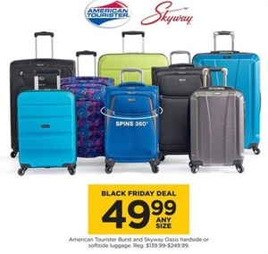 American Tourist Burst & Skyway Oasis Hardside or Softside Luggage