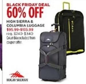 High Sierra & Columbia Luggage