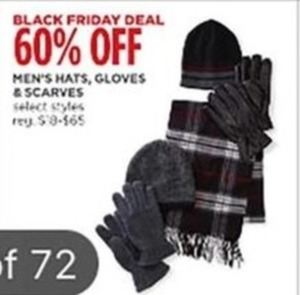 Men's Select Styles Hats, Gloves, and Scarves