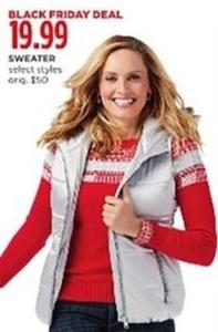Liz Claiborne Women's Sweater