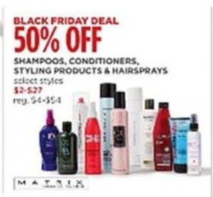 Shampoos, Conditioners, Styling Products & Hairsprays