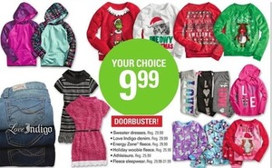 Various Girls clothing