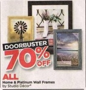Studio Decor Home & Platinum Wall Frames