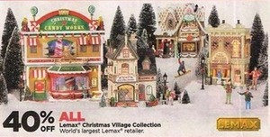 All Lemax Christmas Village Collection