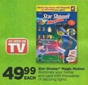 Star Shower Magic Motion